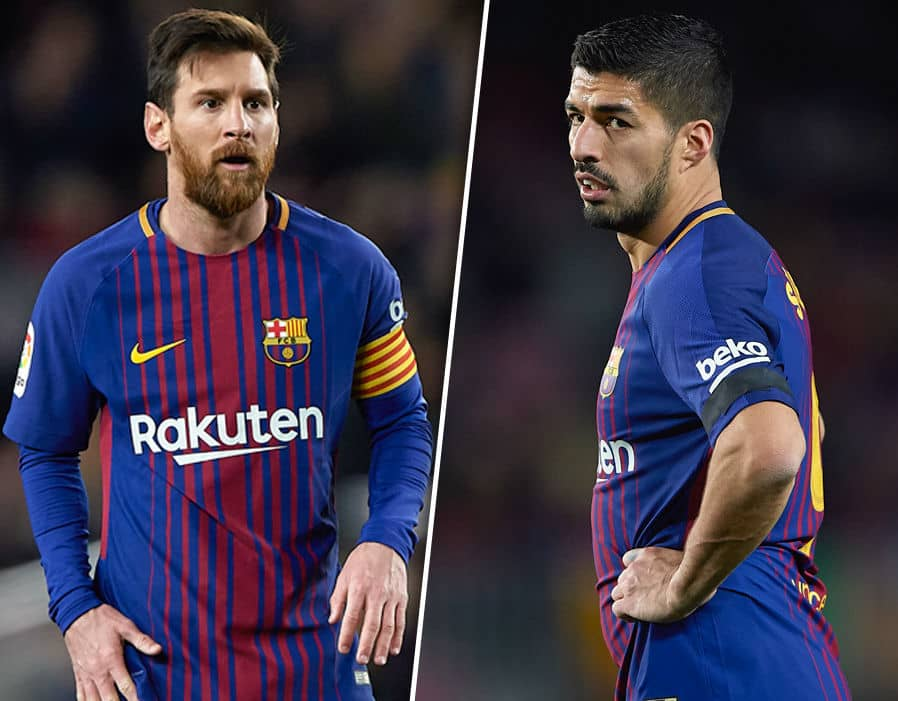 Lionel Messi Is Angry With Barcelona Authorities Over The Luis Suarez Issue