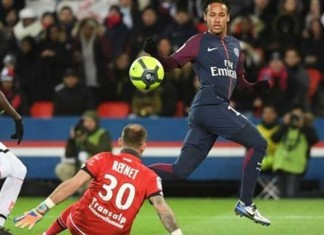 Neymar's Historic Performance In Ligue 1 Against Dijon