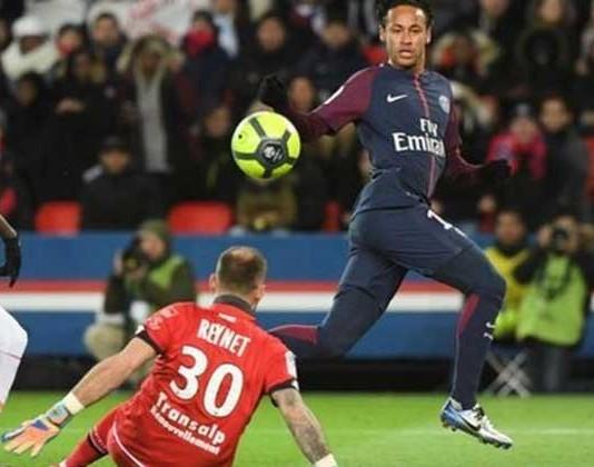 Neymar's Historic Performance In Ligue 1 Against Dijon