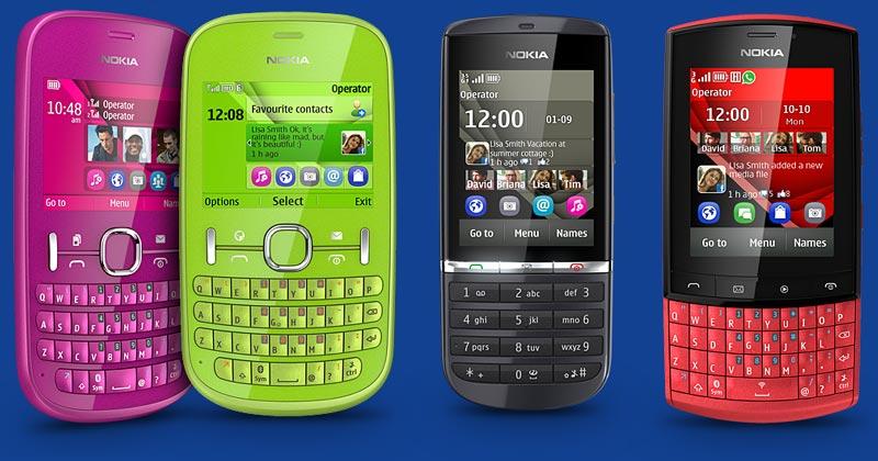 Nokia Asha Lineup Coming Back