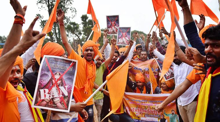 Padmaavat Released Today But Wednesday Witnessed Protest Across The Whole Country!