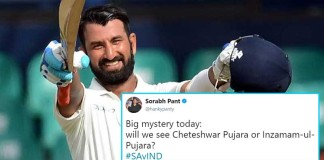 Pujara's Slow Innings Has Got Twitterati's Mind Running