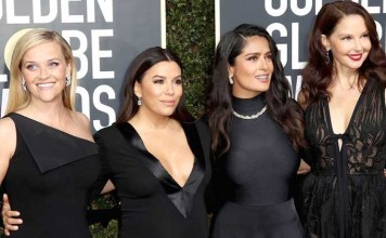 The Black Dresses From The Golden Globes Will Be Auctioned On eBay For The Time's Up Movement