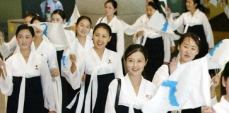 The Strange Case Of North Korea's Cheerleaders