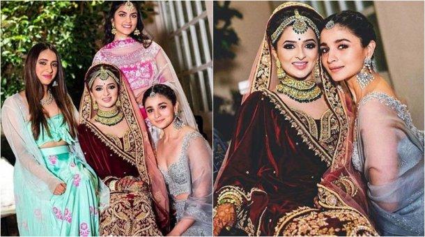 Alia Bhatt Looks Ravishing At Her Best Friend S Wedding In
