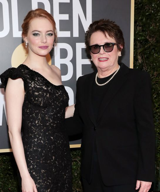 emma stone - billie jean king