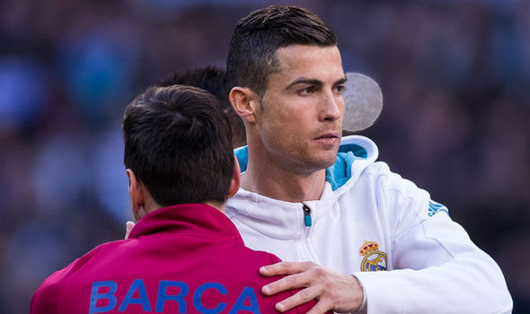 Cristiano Ronaldo is furious at Lionel Messi