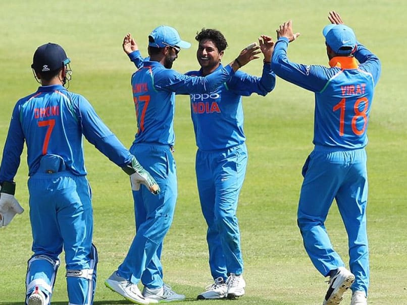 Kuldeep Yadav claimed three wickets and helped India restrict South Africa to 269 for 8.