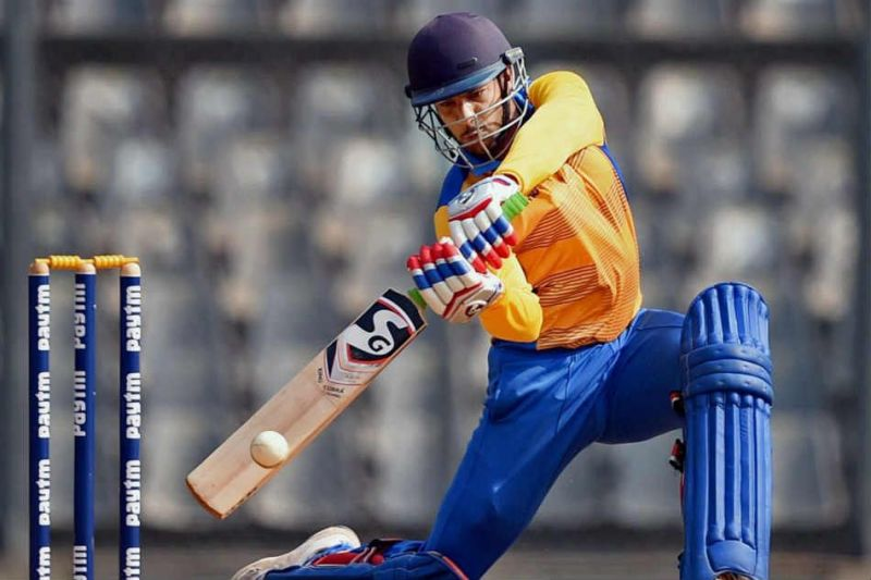 Mayank Agarwal finished the Vijay Hazare Trophy 2018 with 723 runs