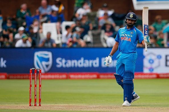 Rohit rought up his 17th ODI century at Port Elizabeth
