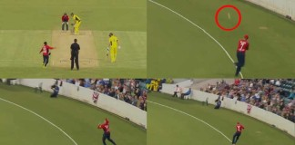 Sam Billings Takes A Stunning Catch To Dismiss Faulkner