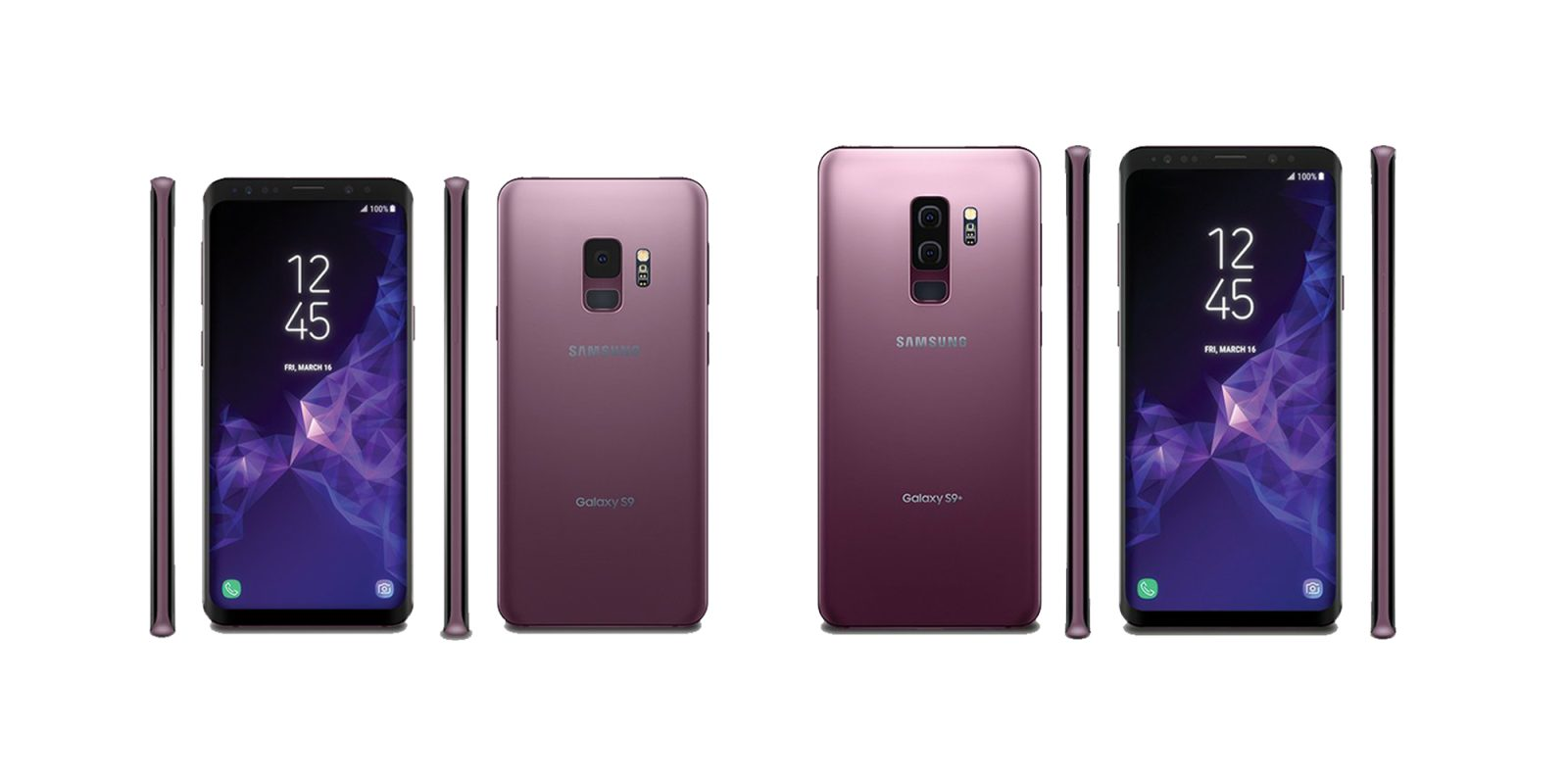 Samsung Galaxy S9 and Galaxy S9 Plus price and availability