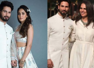 Shahid Kapoor Mira Rajput Lakme Fashion Week
