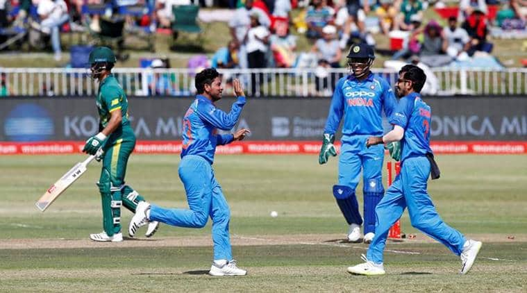 The Indian wristspinners bamboozled the Proteas batsmen.
