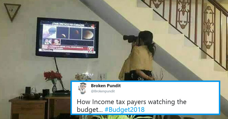 Union Budget 2018 Twitter Reactions