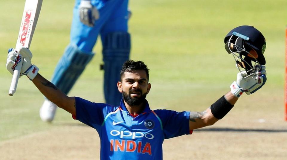 Virat Kohli breaks Sourav Ganguly's ton record in 3rd ODI vs South Africa