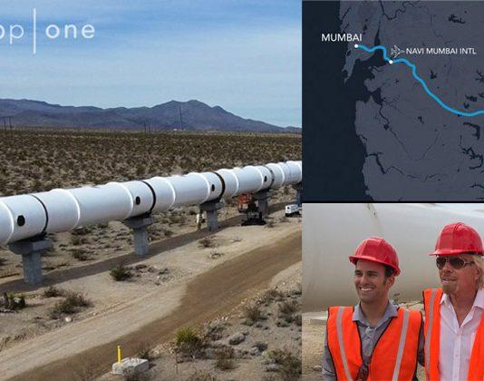 Virgin Mumbai-Pune Hyperloop Project Richard Branson