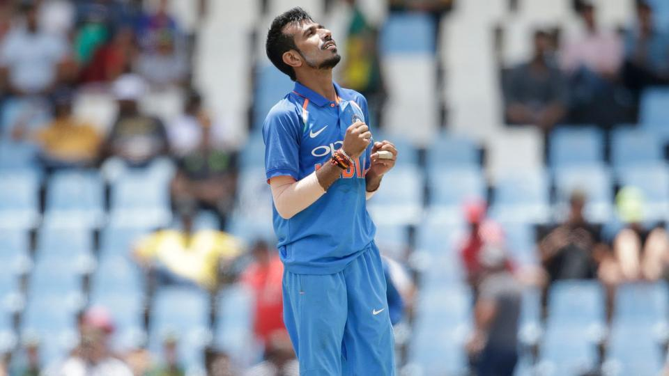 Yuzvendra Chahal overstepped twice in India's fourth ODI against South Africa in Johannesburg on Saturday