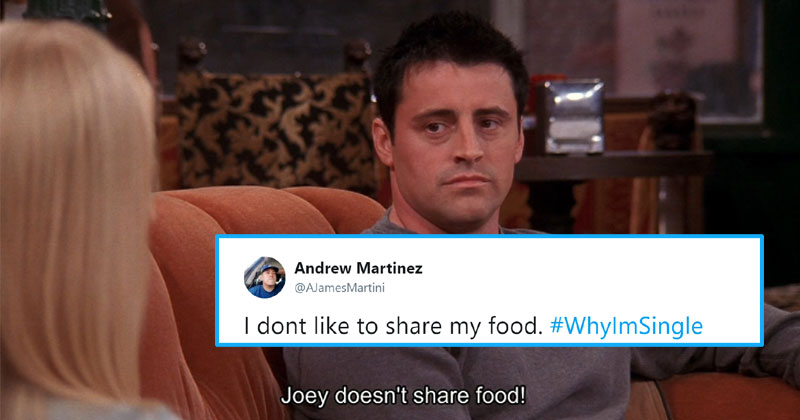 joey doesn't share food #whyImSingle