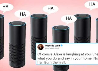 Amazon Alexa laughing