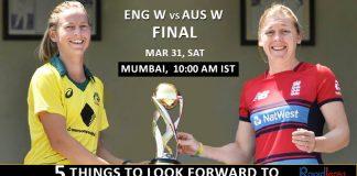 Australia Women's And England Women's Final T20