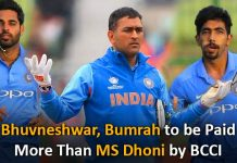 BCCI Offers A Pay Hike Of 5 Cr To These Indian Cricketers, Leaving Dhoni Entirely Out Of The Spectrum