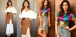 Kriti Sanon and Shilpa Shetty