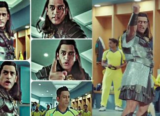 Mahendra Singh Dhoni Snickers Video Ad