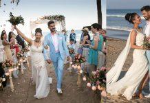 Rochelle Rao Keith Sequeira Beach Wedding Pictures