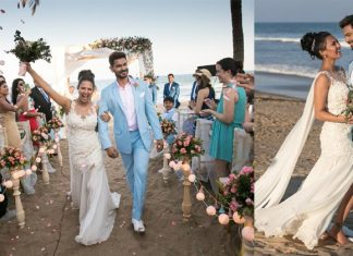 Rochelle Rao Keith Sequeira Beach Wedding Pictures