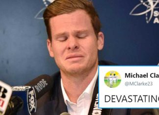 Steve Smith's Emotional Apology