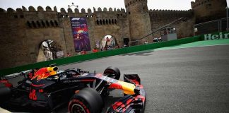 2018 Azerbaijan grand aprix red bull