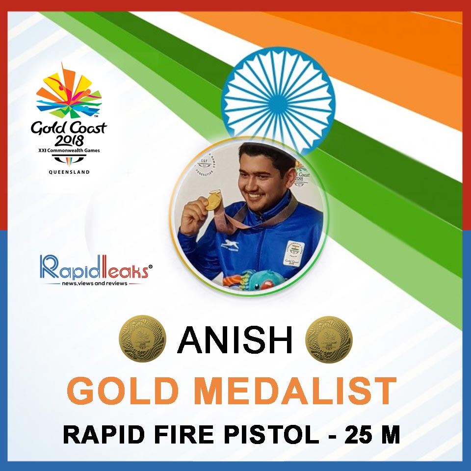 ANISH GOLD Medalist