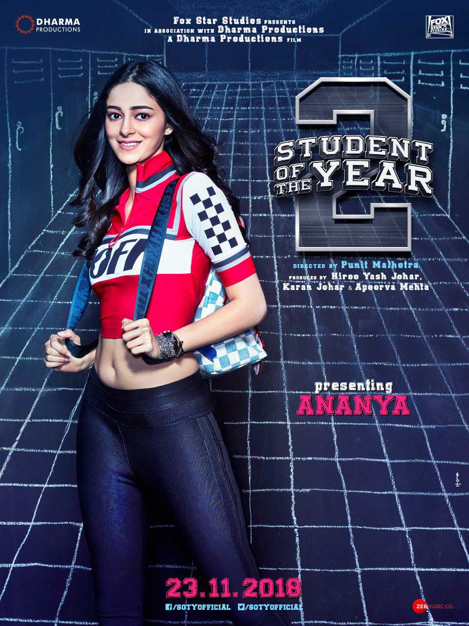 Ananya Panday student of the year 2