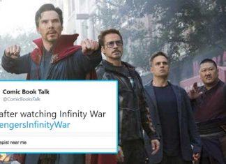 Avengers Infinity War Movie