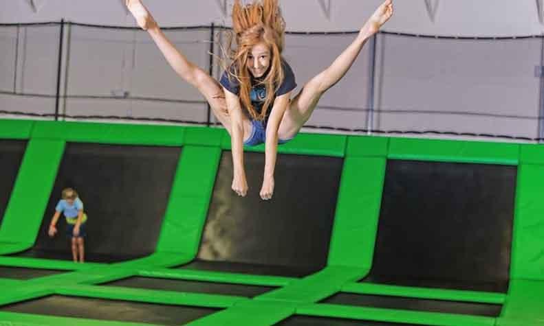 Jump on Trampoline