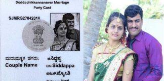 Karnataka Couple's Wedding Invite Looks Like Voter ID Card
