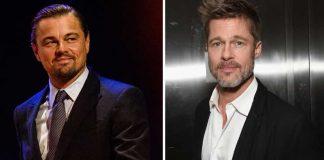 Leonardo DiCaprio and Brad Pitt.