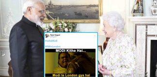 PM Narendra Modi Meets Queen Elizabeth