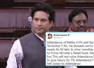 Sachin Tendulkar Donates All Of His Rajya Sabha Salary to PM's Relief Fund