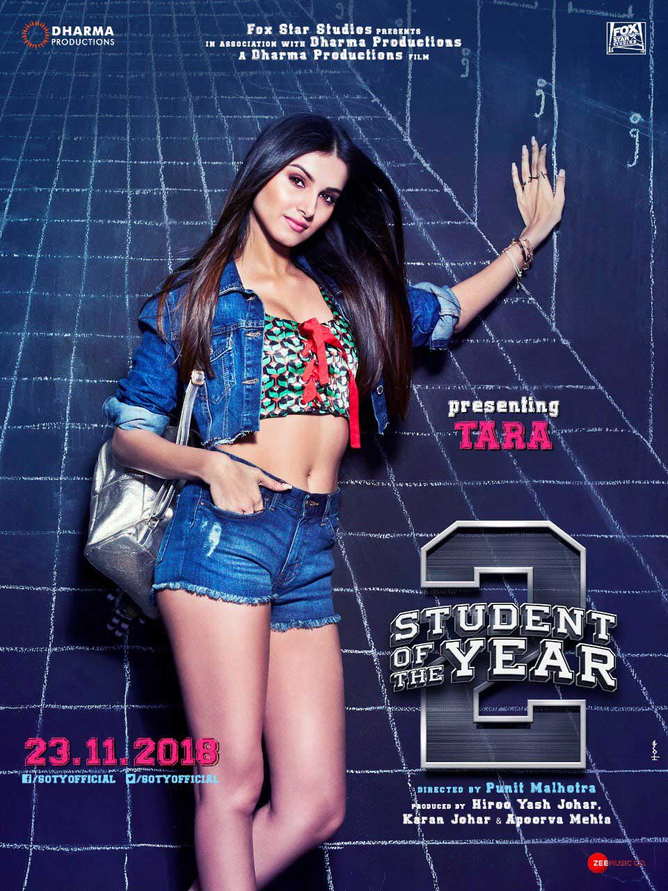 Tara Sutaria student of the year 2