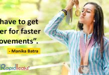 manika batra table tennis cwg 2018 gold gold cosat