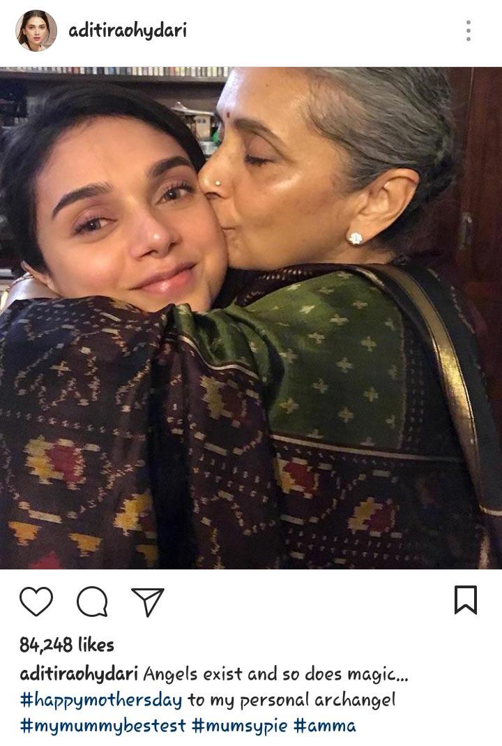 Aditi Rao Mother's Day
