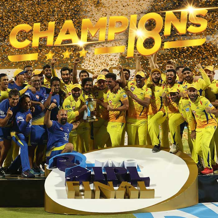 CSK beat SRH in IPL Final 2018