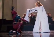 Deadpool Dances To Celine Dion Wearing Heels