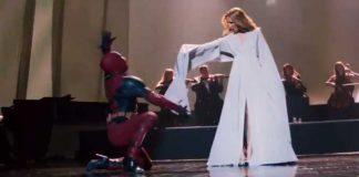 Deadpool Dances To Celine Dion Wearing Heels