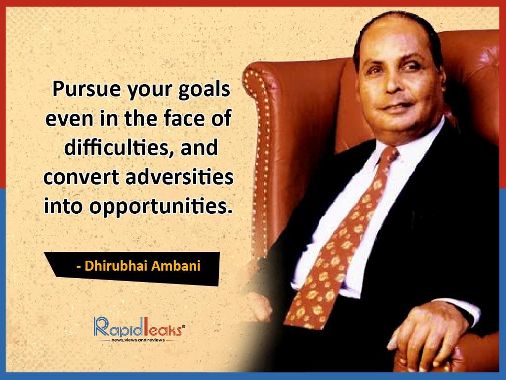 Dhirubhai Ambani Quotes