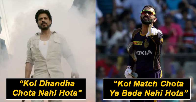 KKR Players Enacted Some Of SRK's Most Famous Dialogues