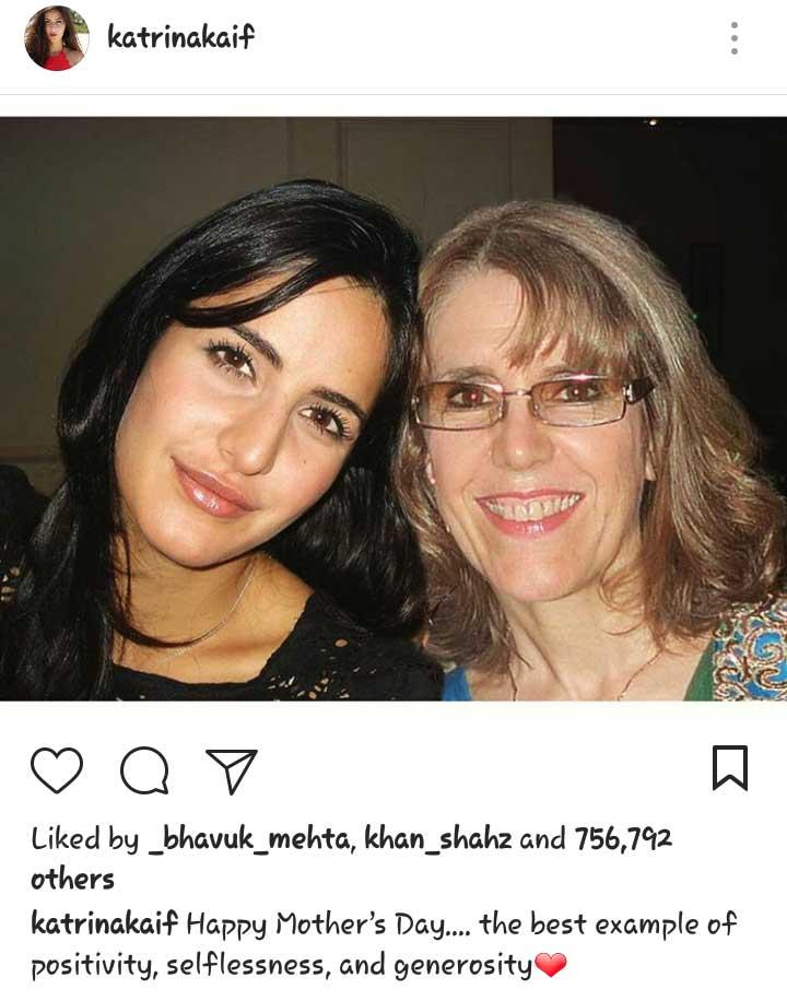 Katrina Kaif Mother's Day