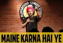 Maine Karna Hai Yeh - Parvinder Singh